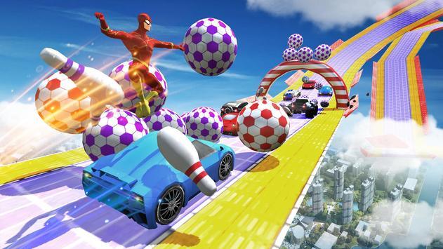 Impossible Mega Ramp Car Stunts Racing Drive screenshot 6
