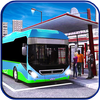 Off road modern metro bus: crazy simulator drive icon