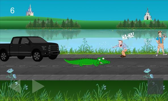 Karamunsing Crocodile poster