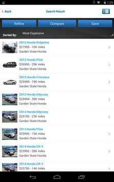Garden State Honda apk screenshot