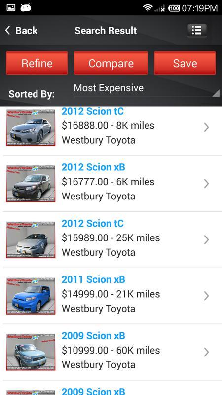 Westbury Toyota Poster Screenshot 1 2