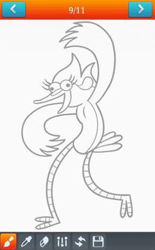 how to draw regular Show apk screenshot