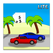 Racing Addition Kids Math Lite icon
