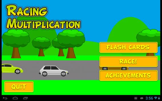 Racing Multiplication apk screenshot