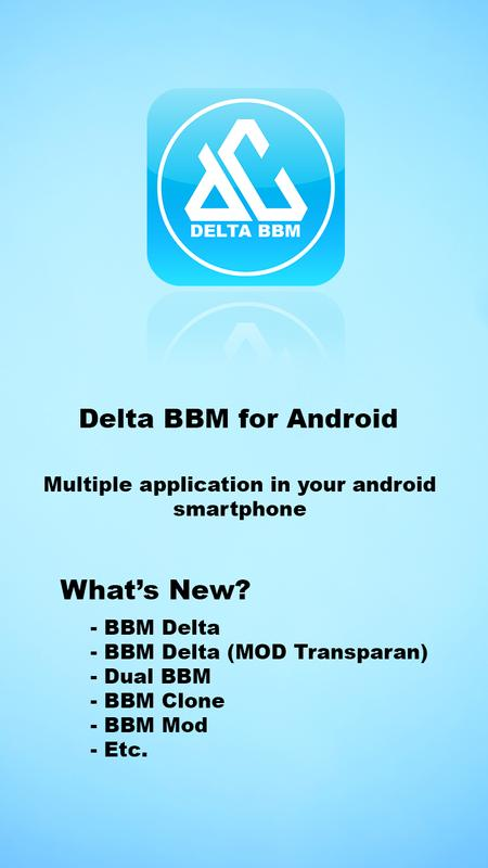 Delta Bbm Mod By Deltalabs For Android Apk Download