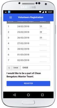 CLEAN Bengaluru apk screenshot
