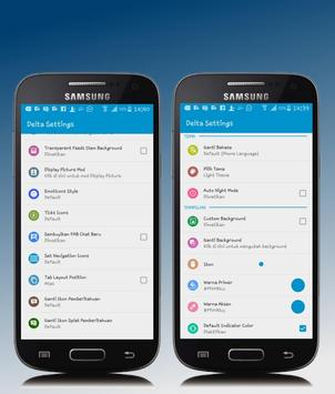 Dual BBM Transparan New apk screenshot
