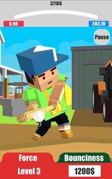 Baseball City. Pixel Boy Star. Grand Cup 3D screenshot 7