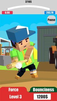 Baseball City. Pixel Boy Star. Grand Cup 3D screenshot 6