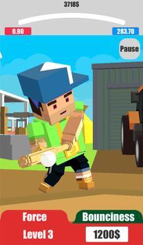 Baseball City. Pixel Boy Star. Grand Cup 3D screenshot 8