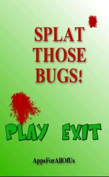 Splat Those Bugs apk screenshot