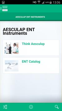 AESCULAP ENT Instruments poster
