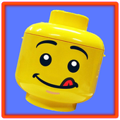 Minifig slide puzzle for Lego icon