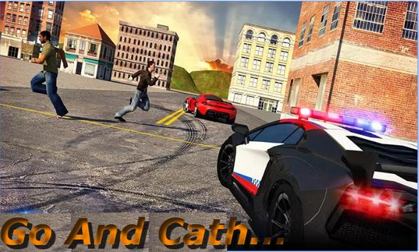 Extreme Police Car Chase 3D poster
