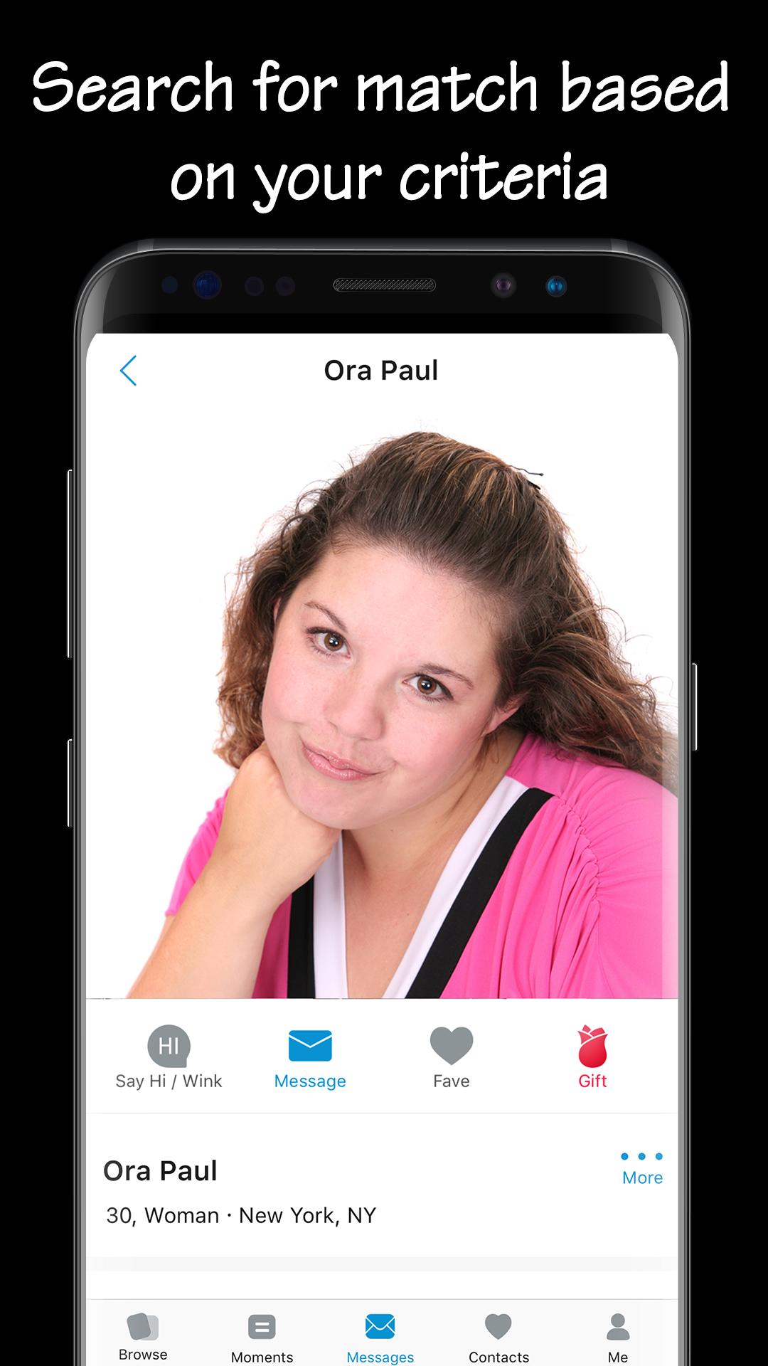 Bbw Chat bbw dating & curvy singles chat- largefriends for android