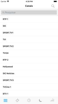 Portuguese Television Guide screenshot 3