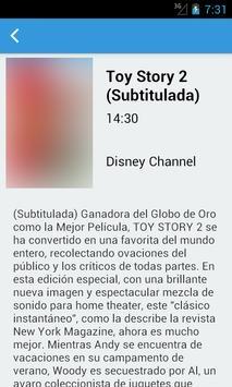 Televisión de Panamá Guía screenshot 2