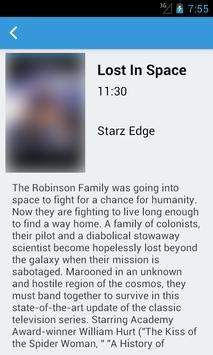 New York's Television Guide apk screenshot