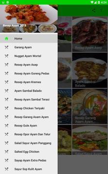 Aneka Resep Ayam 2018 screenshot 1