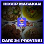 Resep Masakan Dari 34 Provinsi icon