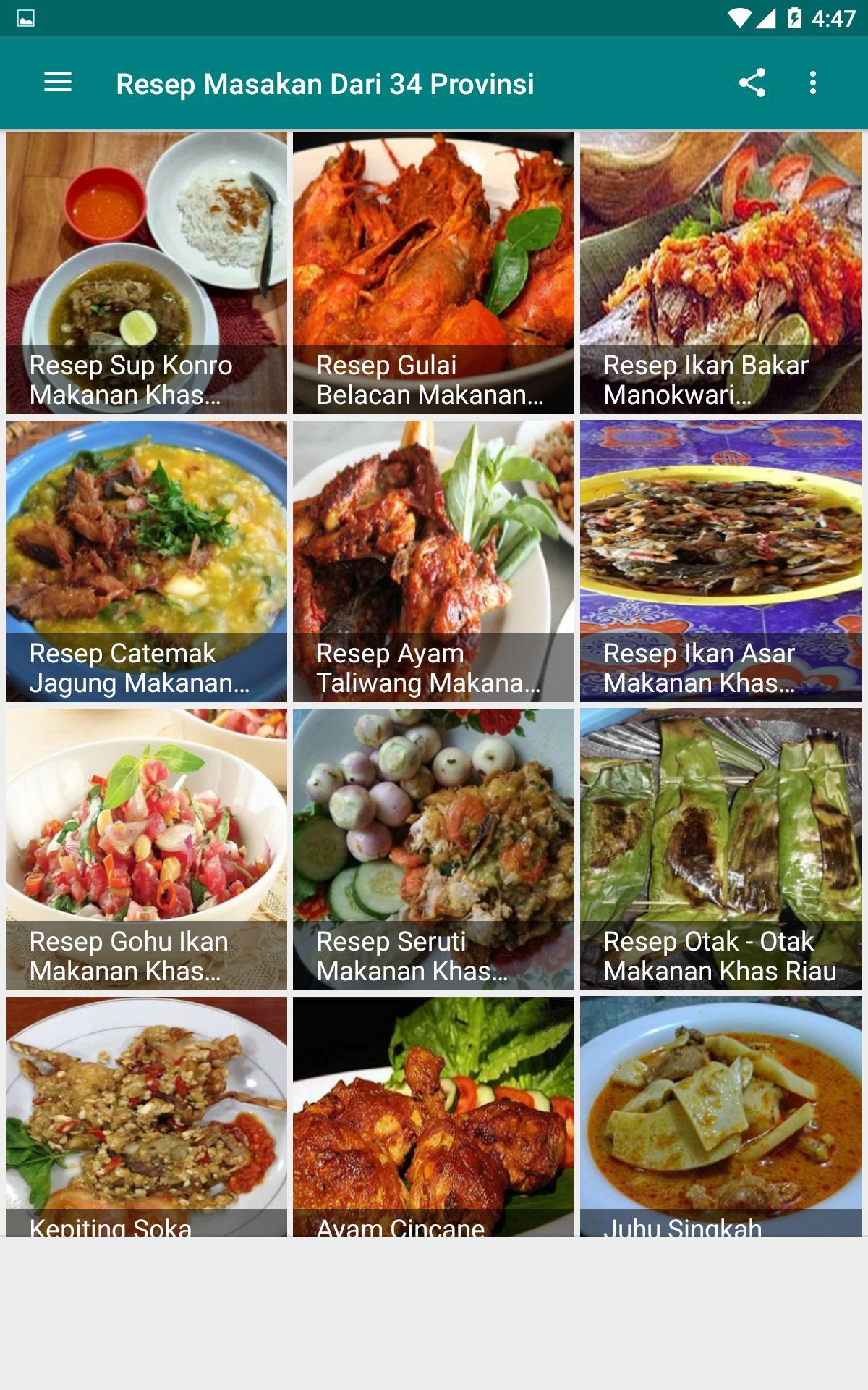 Gambar Makanan Khas Daerah 34 Provinsi Di Indonesia - Info Terkait Gambar