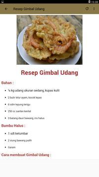 Resep Masakan Udang Pilihan screenshot 1