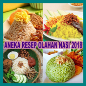Aneka Resep Olahan Nasi 2018 icon