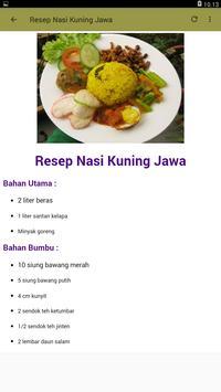 Aneka Resep Olahan Nasi 2018 screenshot 4