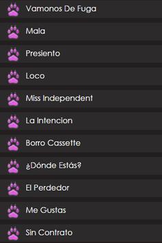 Maluma - Paw Letras screenshot 1
