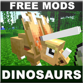 Dinosaurs Mods For MCPE icon
