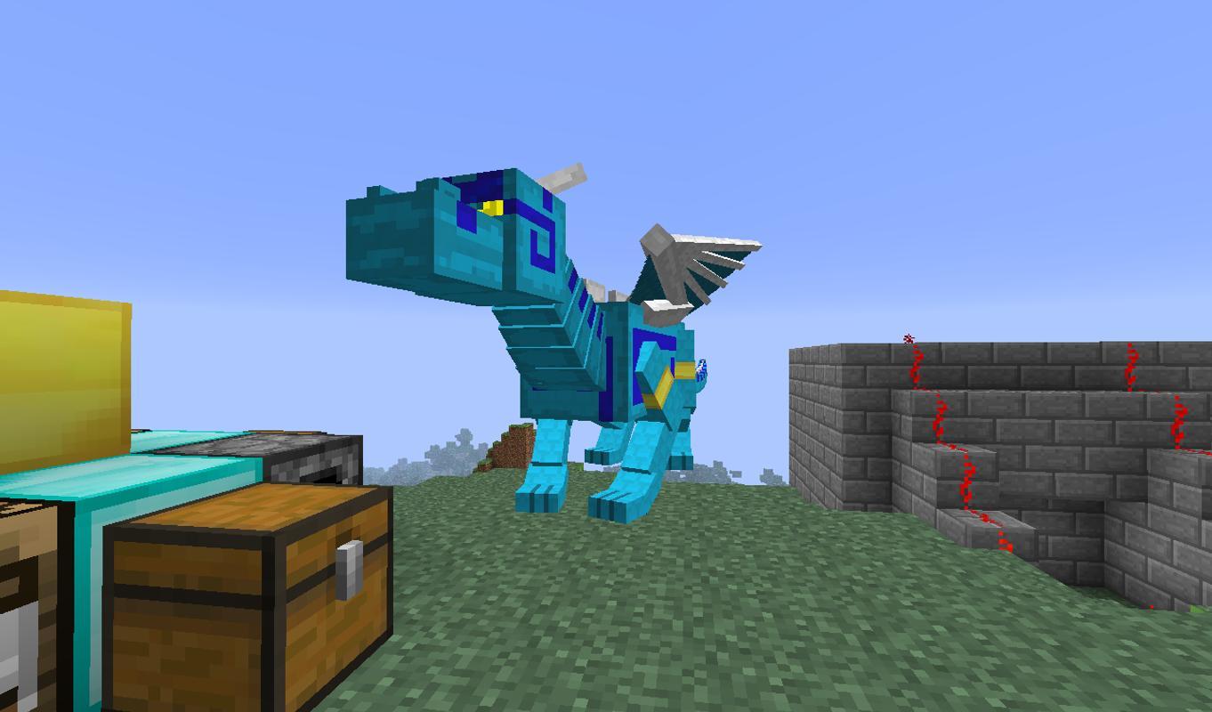 виды драконов в майнкрафт #3