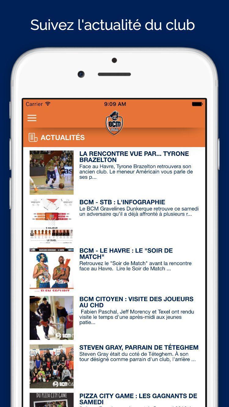 Calendrier De Brazelton.Bcm Gravelines Dunkerque For Android Apk Download