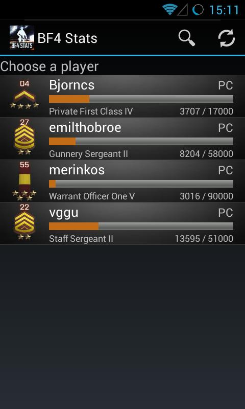 BF4 Stats for Android - APK Download