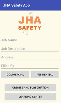 JHA Safety App poster
