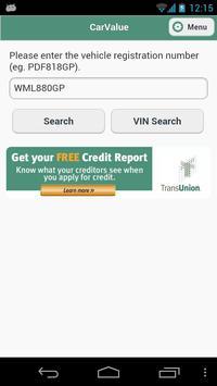 TransUnion CarValue screenshot 2