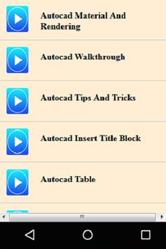 Guide for AutoCad apk screenshot