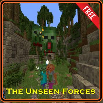 The Unseen Forces Map for MCPE poster