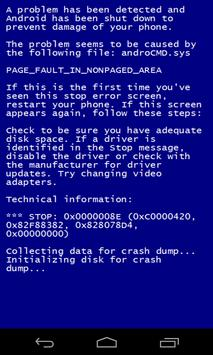 Blue Screen apk screenshot