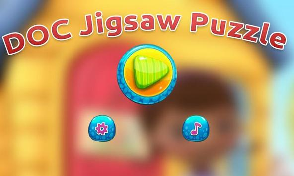 Toy Doc Jigsaw Puzzle Painting poster