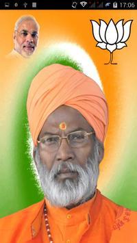 Sakshi Maharaj Poster