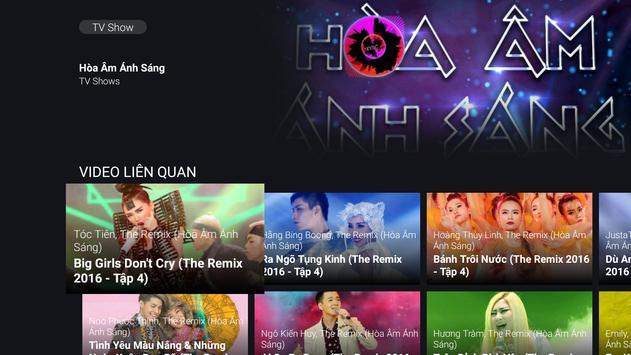 NhacSo TV Hi-Res - Android TV apk screenshot
