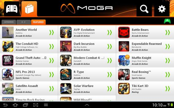MOGA Pivot screenshot 4