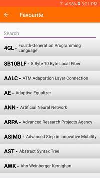 Computer Abbreviation Poster Apk Screenshot
