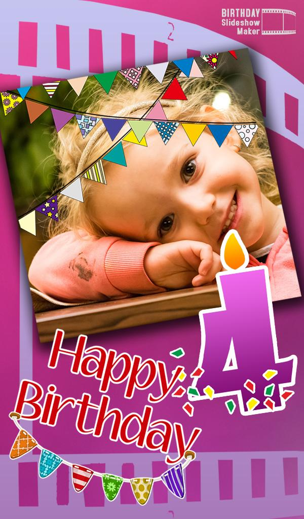 Hacer Videos De Cumpleaños Con Musica Y Fotos For Android Apk Download
