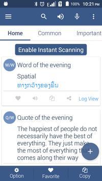 Lao Dictionary Offline poster