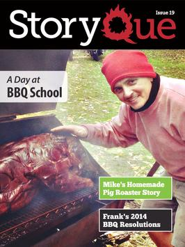 StoryQue: Barbecue Magazine poster