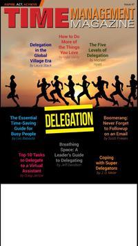 Time Management Magazine poster