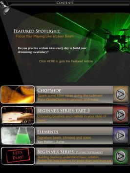 Drumming Innovation Magazine screenshot 1