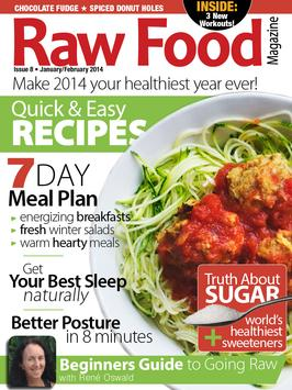Raw food magazine descarga apk gratis noticias y revistas raw food magazine poster forumfinder Images
