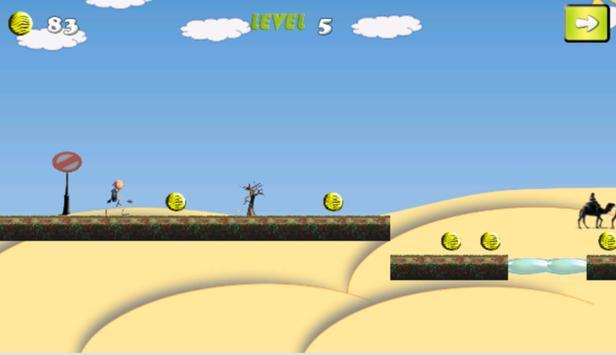 Araby run in ssahara apk screenshot